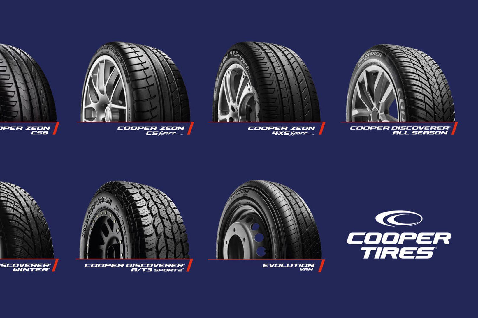 Framleiðslulína Cooper Tires.