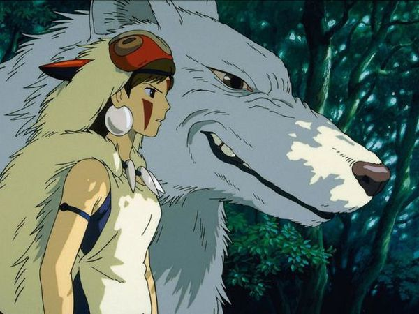 Princess Mononoke by Hayao Miyazaki is screened at Bíó Paradís on Sunday.