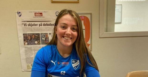 Andrea Thorisson skoraði fyrra mark Kalmar.