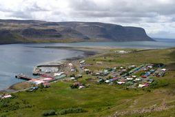 Tálknafjörður.