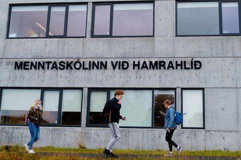 Menntaskólinn við Hamrahlíð.