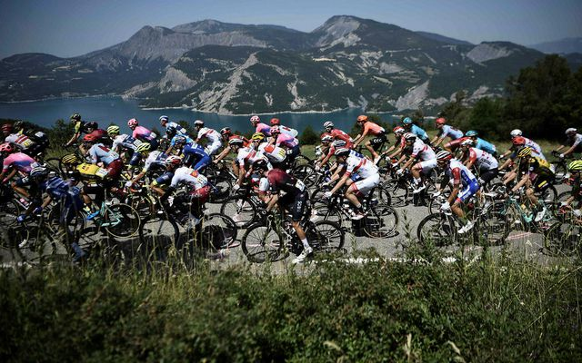 Í Tour de France er hjólað vítt og breitt um Frakkland og jafnvel nágrannalöndin.