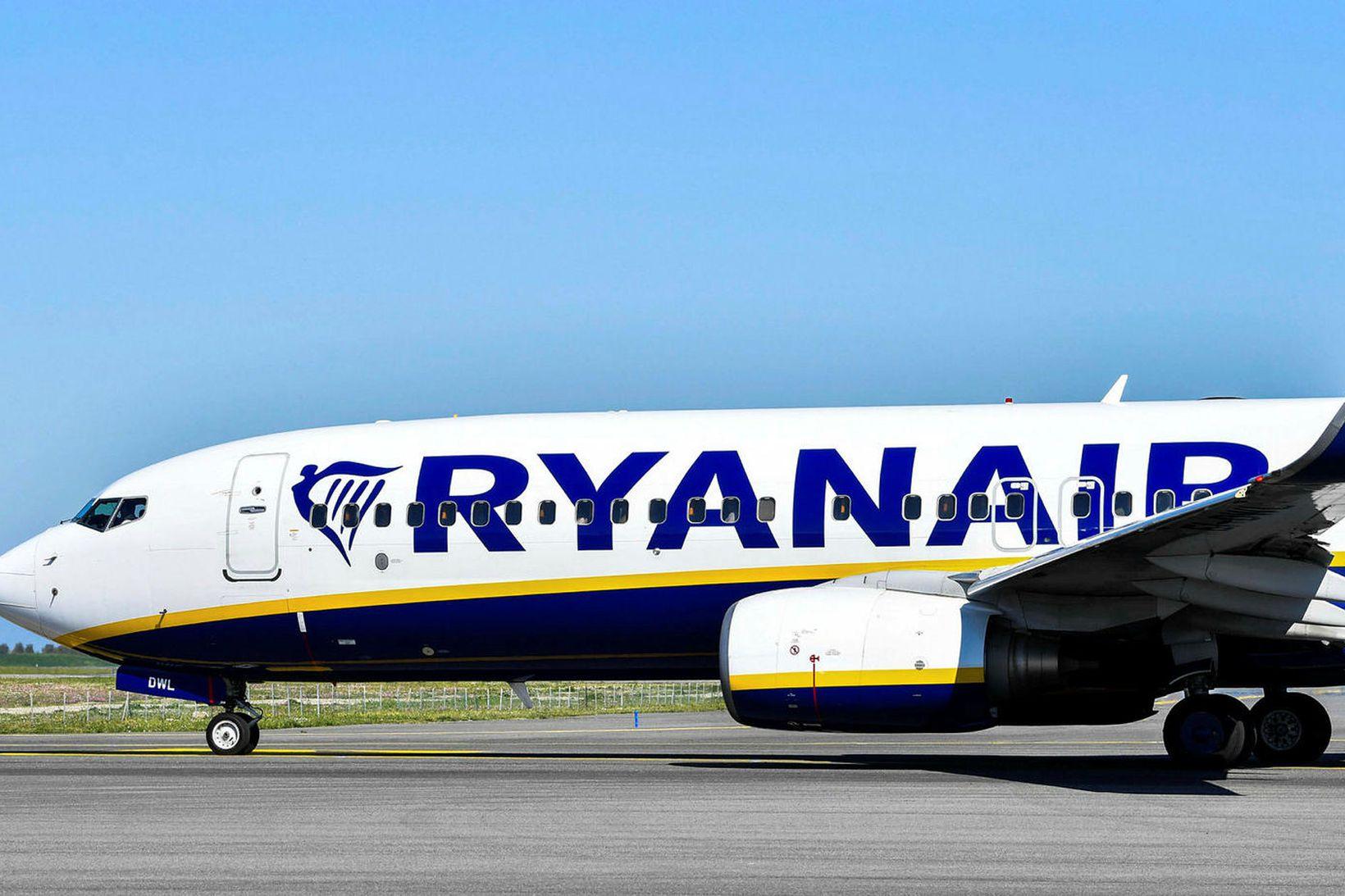 Flugvél Ryanair.