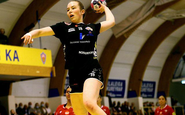 Rakel Sara Elvarsdóttir skoraði átta mörk.