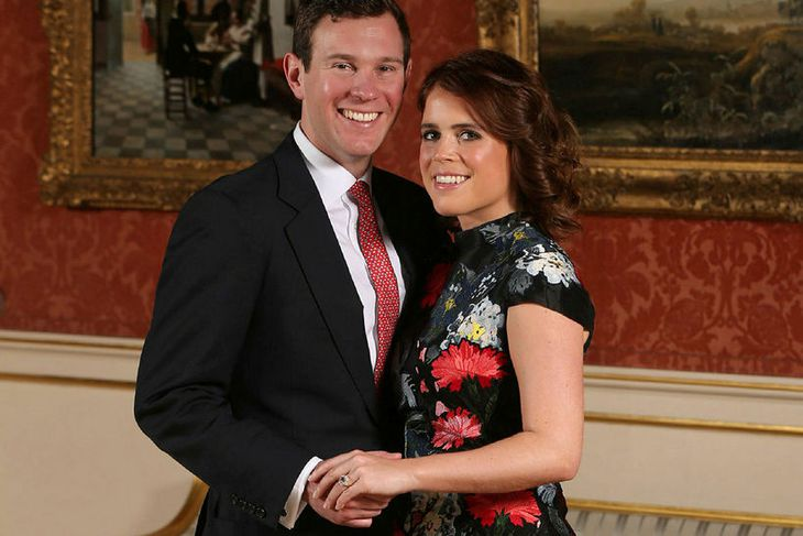 Jack Brooksbank og Eugenie prinsessa ganga í hjónaband 12. október.