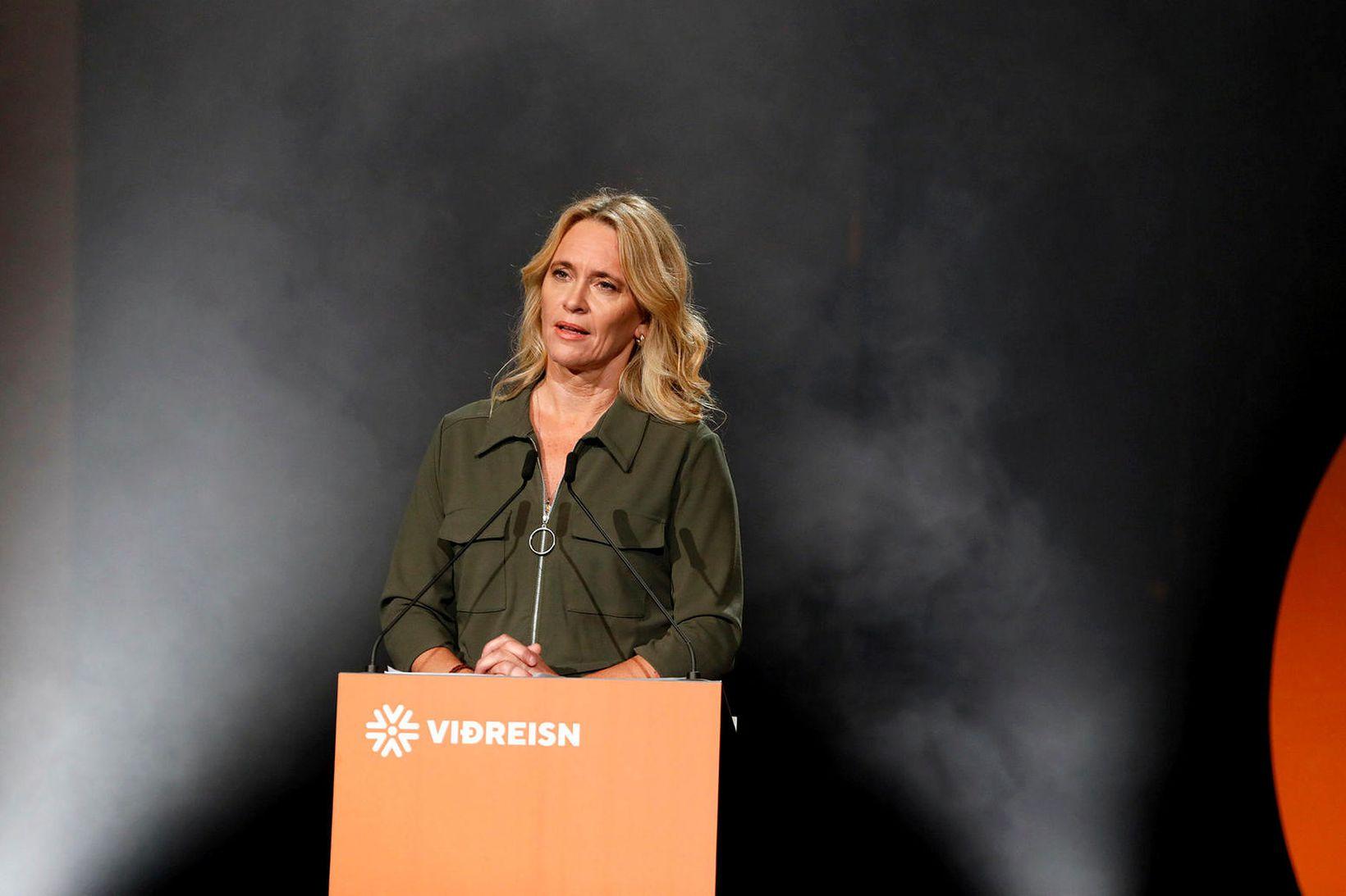 Þorgerður Katrín Gunnarsdóttir, formaður Viðreisnar.