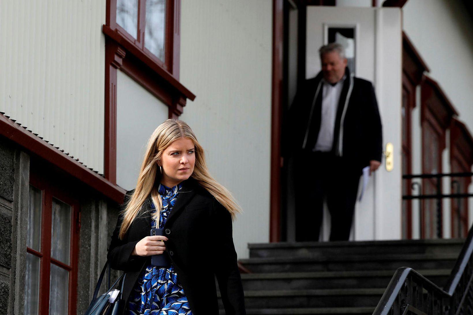 Áslaug Arna Sigurbjörnsdóttir dómsmálaráðherra mótmælti fyrirhugaðri frestun júnífundar FATF, alþjóðlegs …