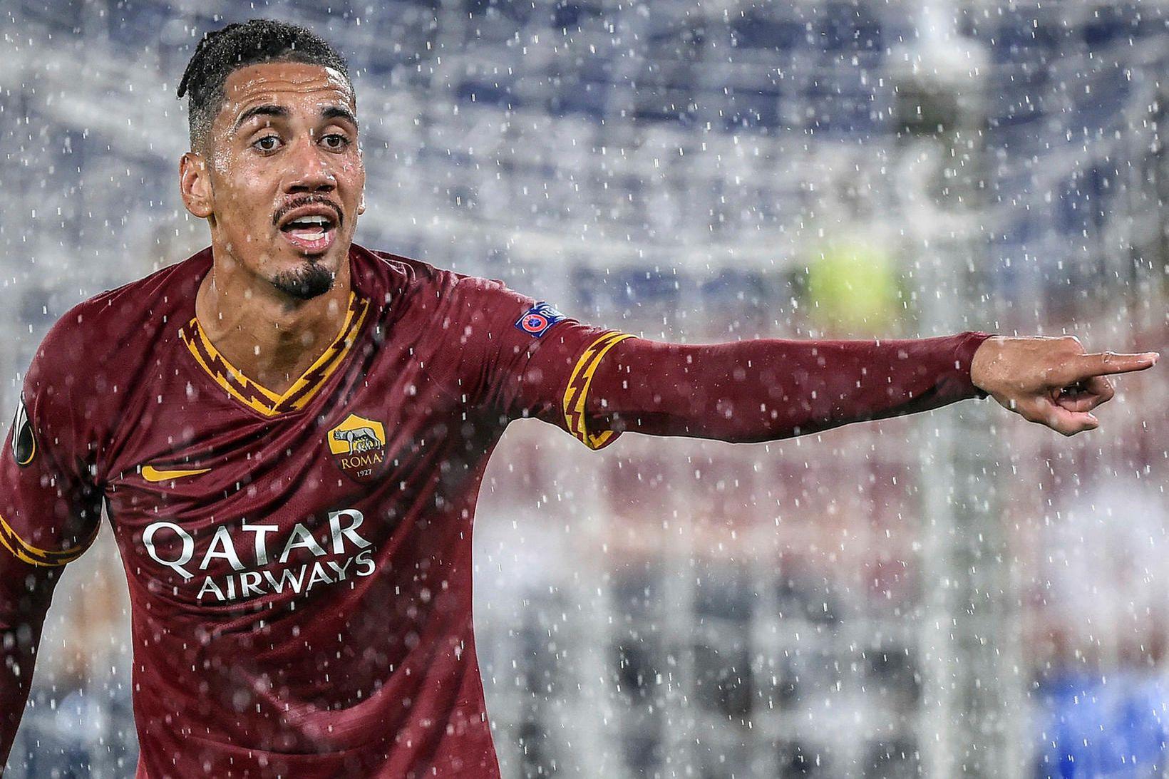 Chris Smalling hefur gert góða hluti með Roma.