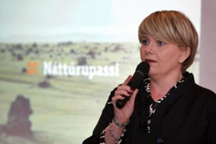 Ragnheiður Elín Árnadóttir, Icelandic Minister for Industry and Commerce.