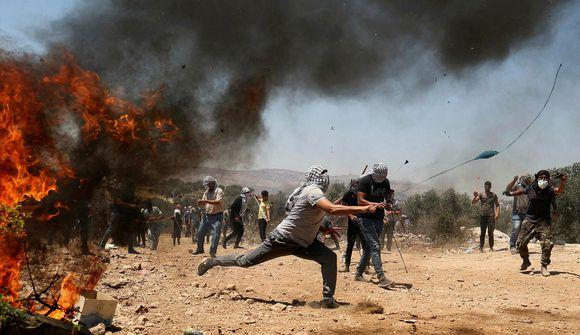 Skutu Palestínumann til bana