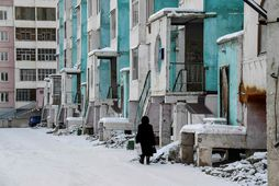 Það er afskaplega kalt í Yakutsk.