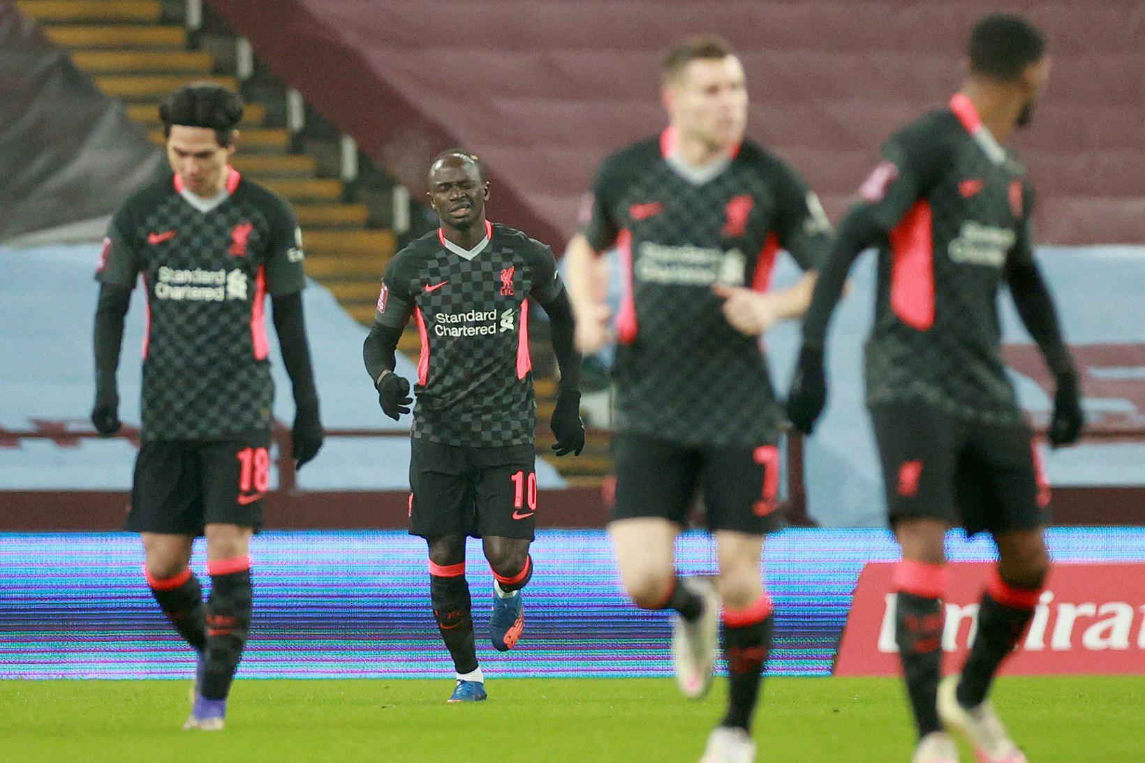 Liverpool tekur á móti Manchester United í stórleik ensku úrvalsdeildarinnar …