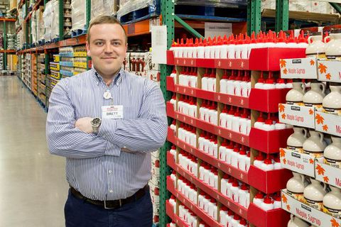 Brett Vigelskas expects huge crowds at the opening of Costco next Tuesday.