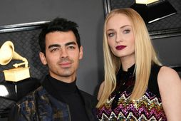 Sophie Turner og Joe Jonas eignuðust stúlku.