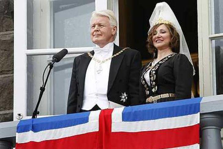 Forsetahjónin, Ólafur Ragnar Grímsson og Dorrit Moussiaeff