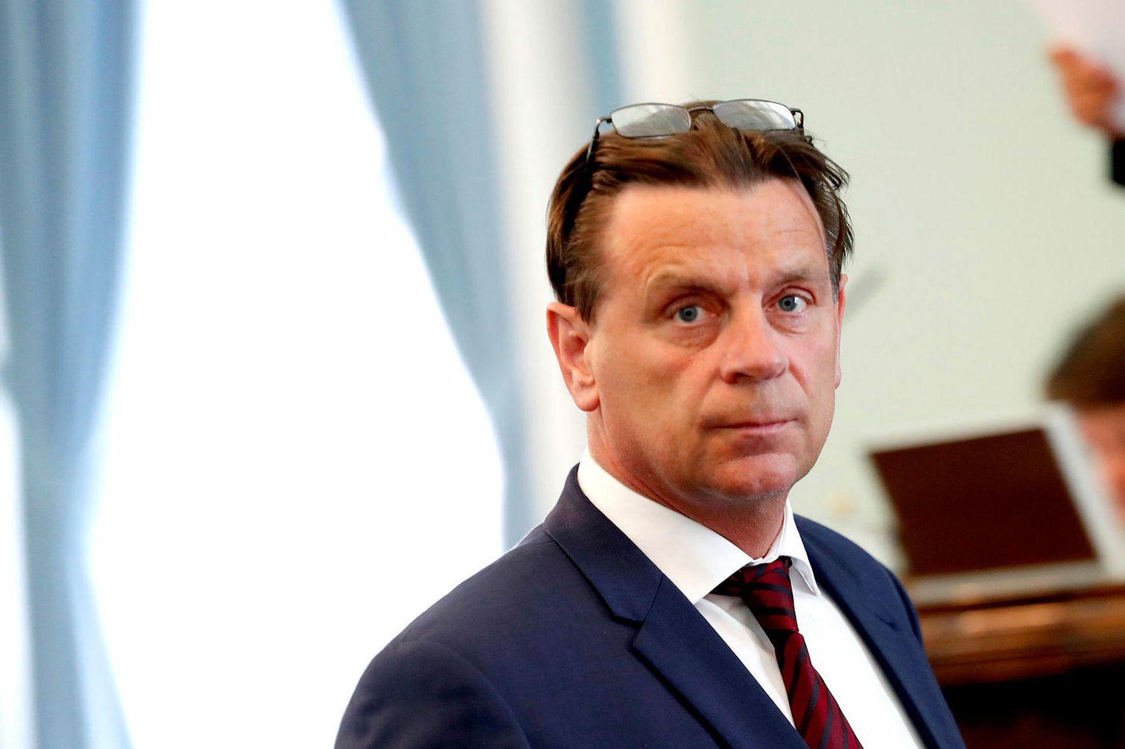 Karl Gauti Hjaltason, fyrrum þingmaður Miðflokksins.