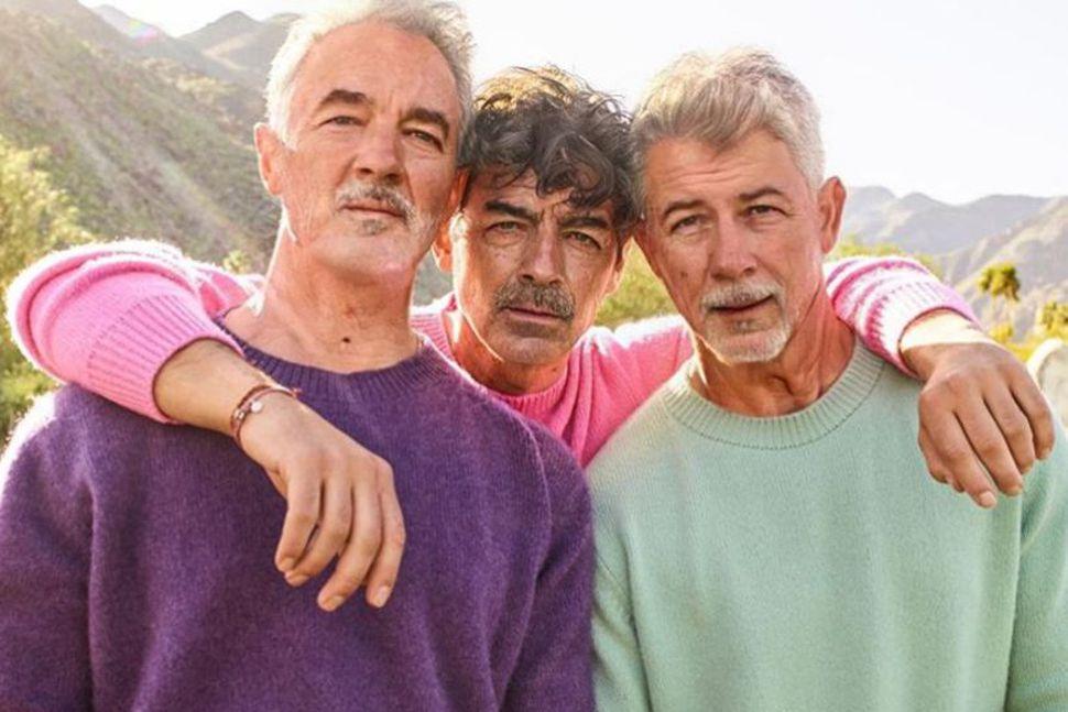 Kevin, Joe og Nick Jonas munu taka sig vel út ...