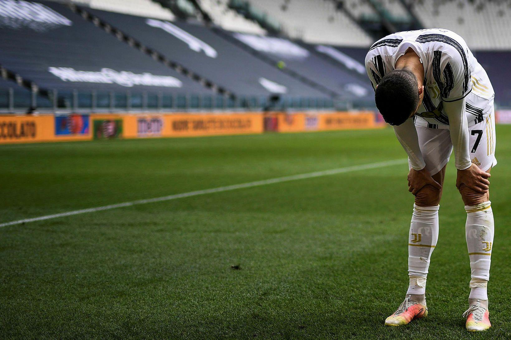 Cristiano Ronaldo gekk til liðs við Juventus frá Real Madrid …