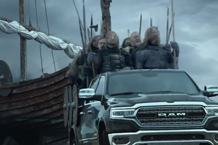 The Vikings- a commercial laden with references to the Icelandic Vikings, mythology and of course, …