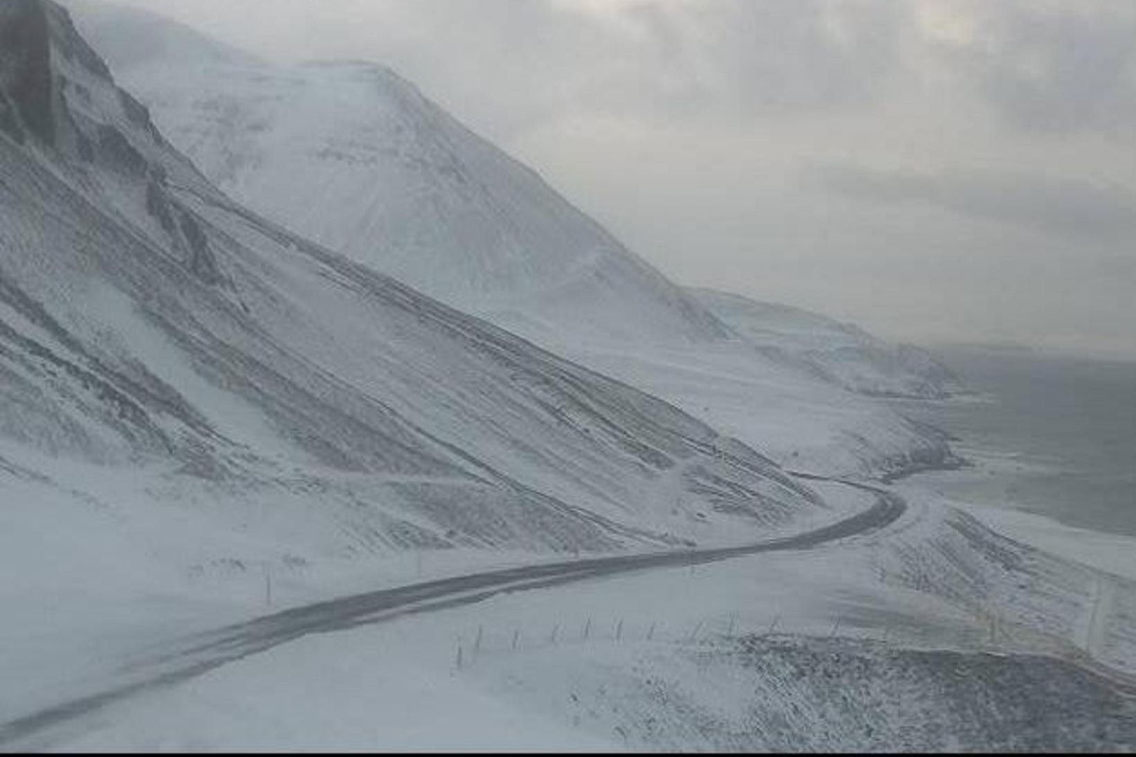 Frá Siglufjarðarvegi.