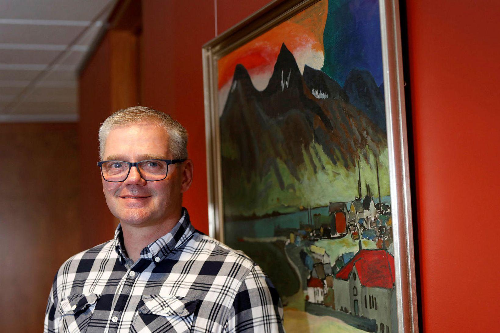 Valmundur Valmundsson formaður Sjómannasamband Íslands.