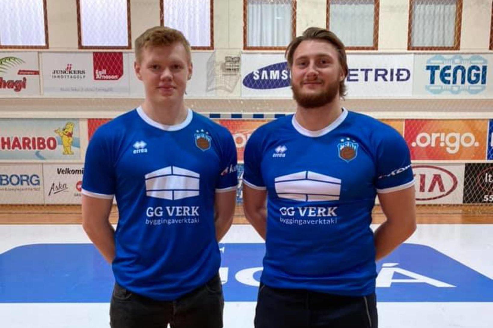Vilhelm Poulsen og Rógvi Dal Christiansen.