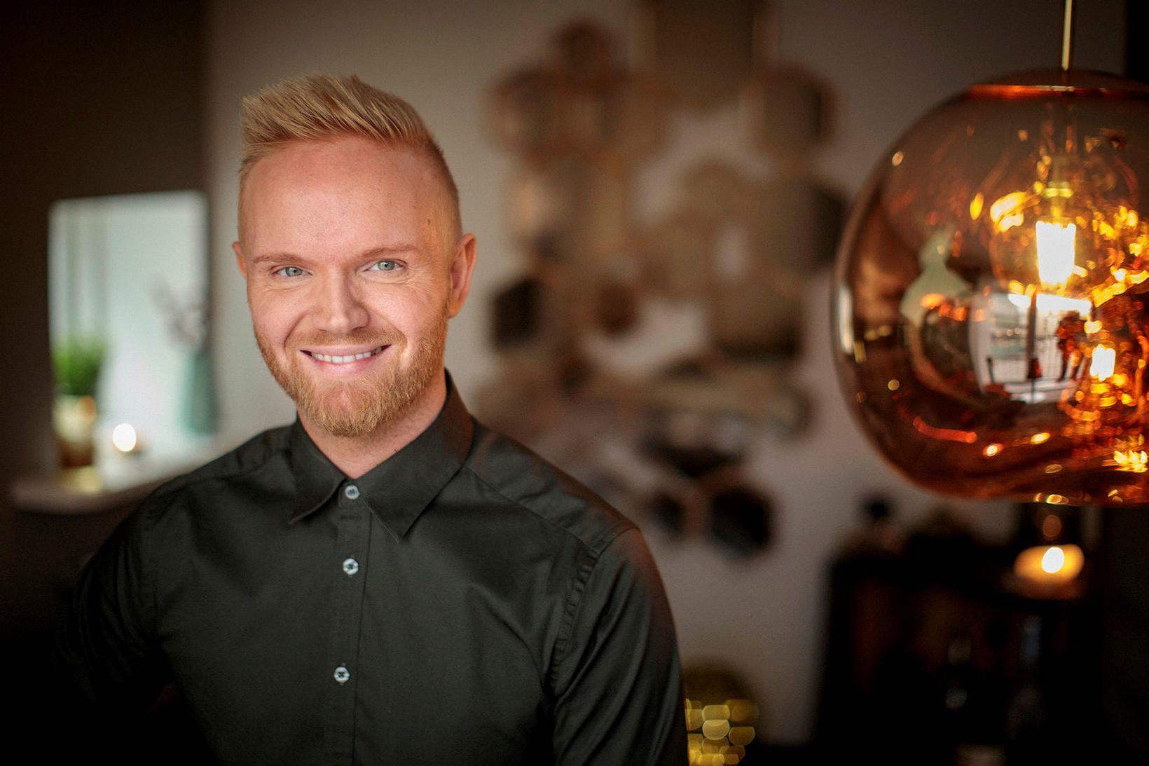 Friðrik Ómar Hjörleifsson.