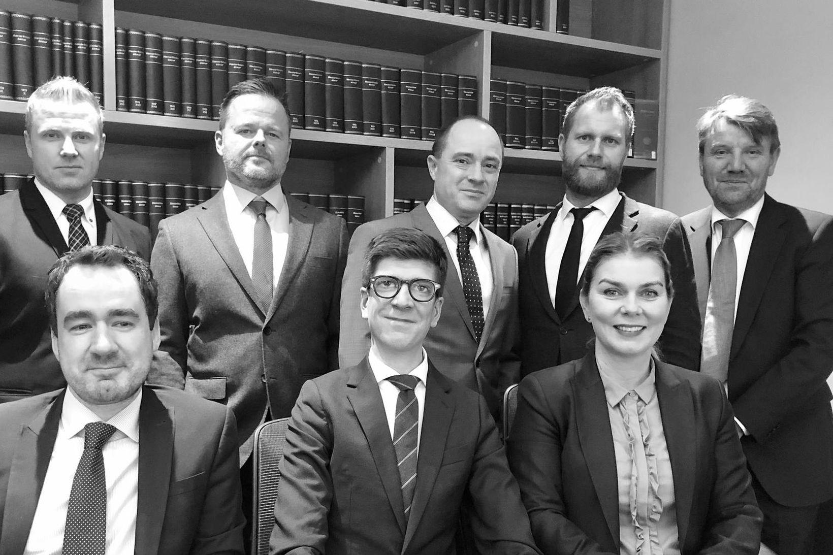 fremri röð frá vinstri: Daníel Isebarn Ágústsson, Flóki Ásgeirsson, Kristín …