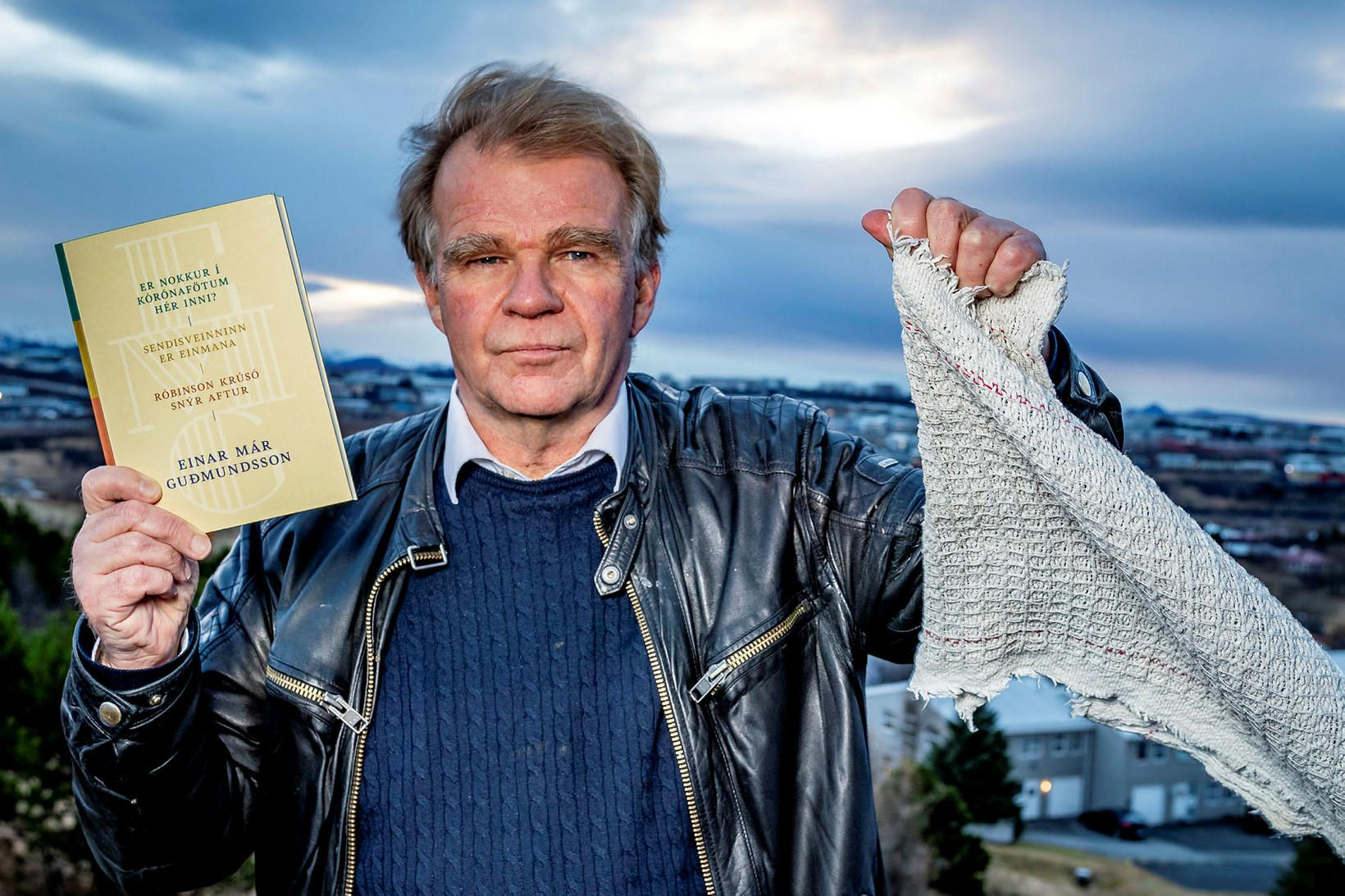 Einar Már Guðmundsson upplifði ýmislegt fyrir 40 árum en svo …