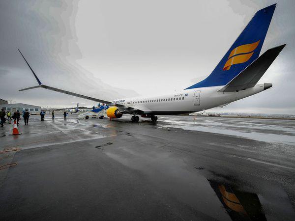 Mislingasmit hefur verið staðfest hjá einum farþega sem var í flugi FI455 með Icelandair frá London til Keflavíkur 14. febrúar.