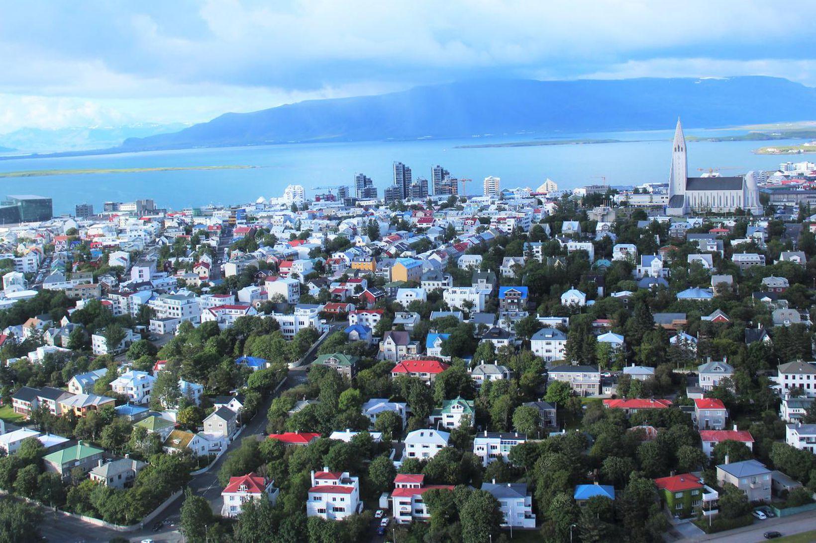 Frá Reykjavík.