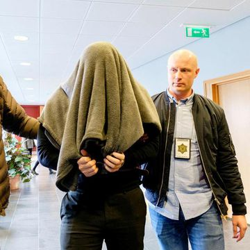 Thomas Olsen at the Reykjanes district court last year. He was sentenced to 19 years in prison.