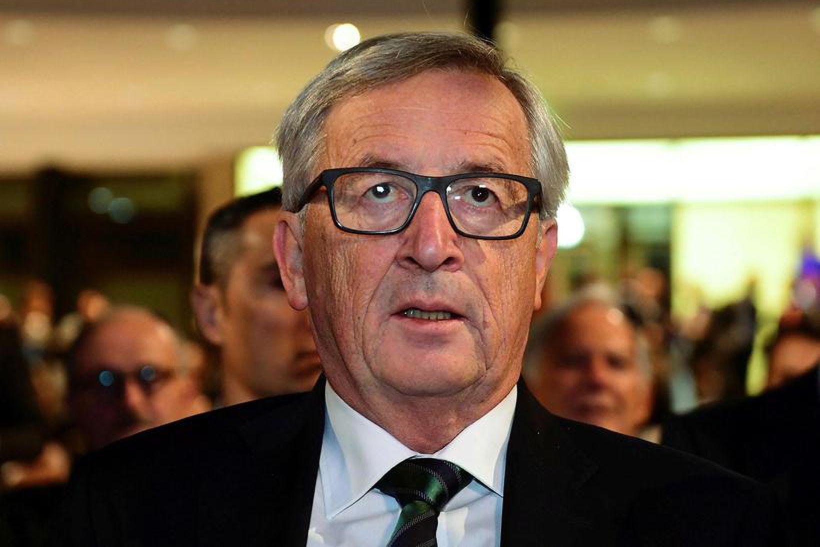 Jean-Claude Juncker, forseti framkvæmdastjórnar ESB.