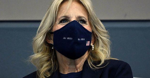 Jill Biden forsetafrú Bandaríkjanna á Ólympíuleikunum í Japan.