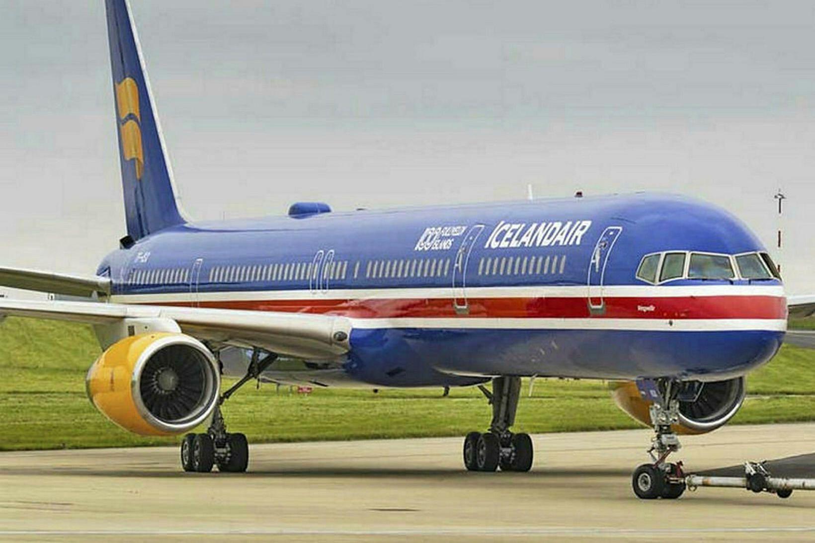 Boeing 757 þoturnar eru komnar til ára sinna og löngu …
