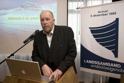 Arthur Bogason, formaður Landssambands smábátaeigenda.