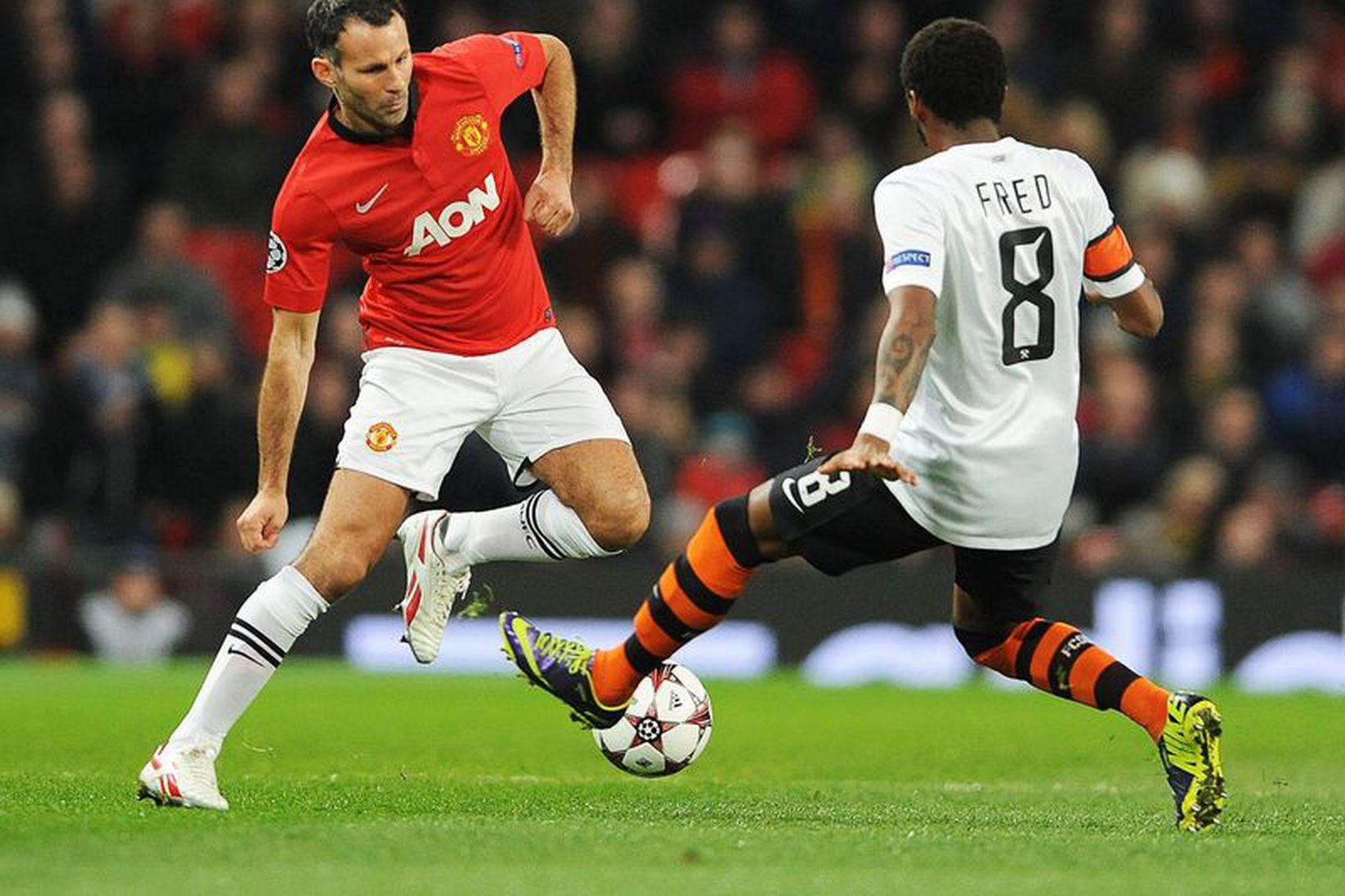 Ryan Giggs náði mögnuðum árangri með Manchester United.