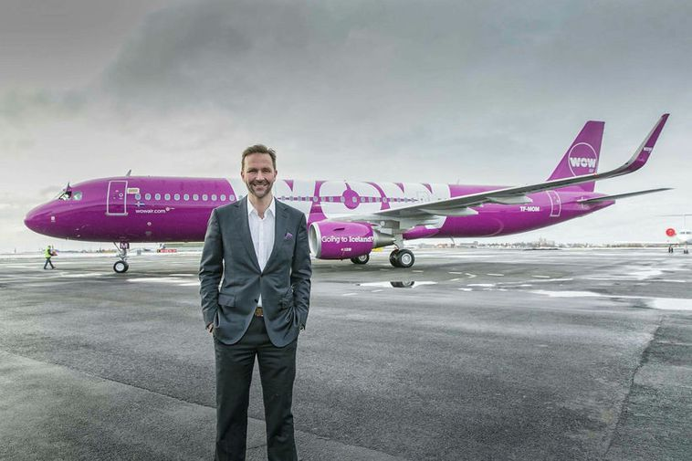 Skúli Mogensen, founder and CEO of WOW air.