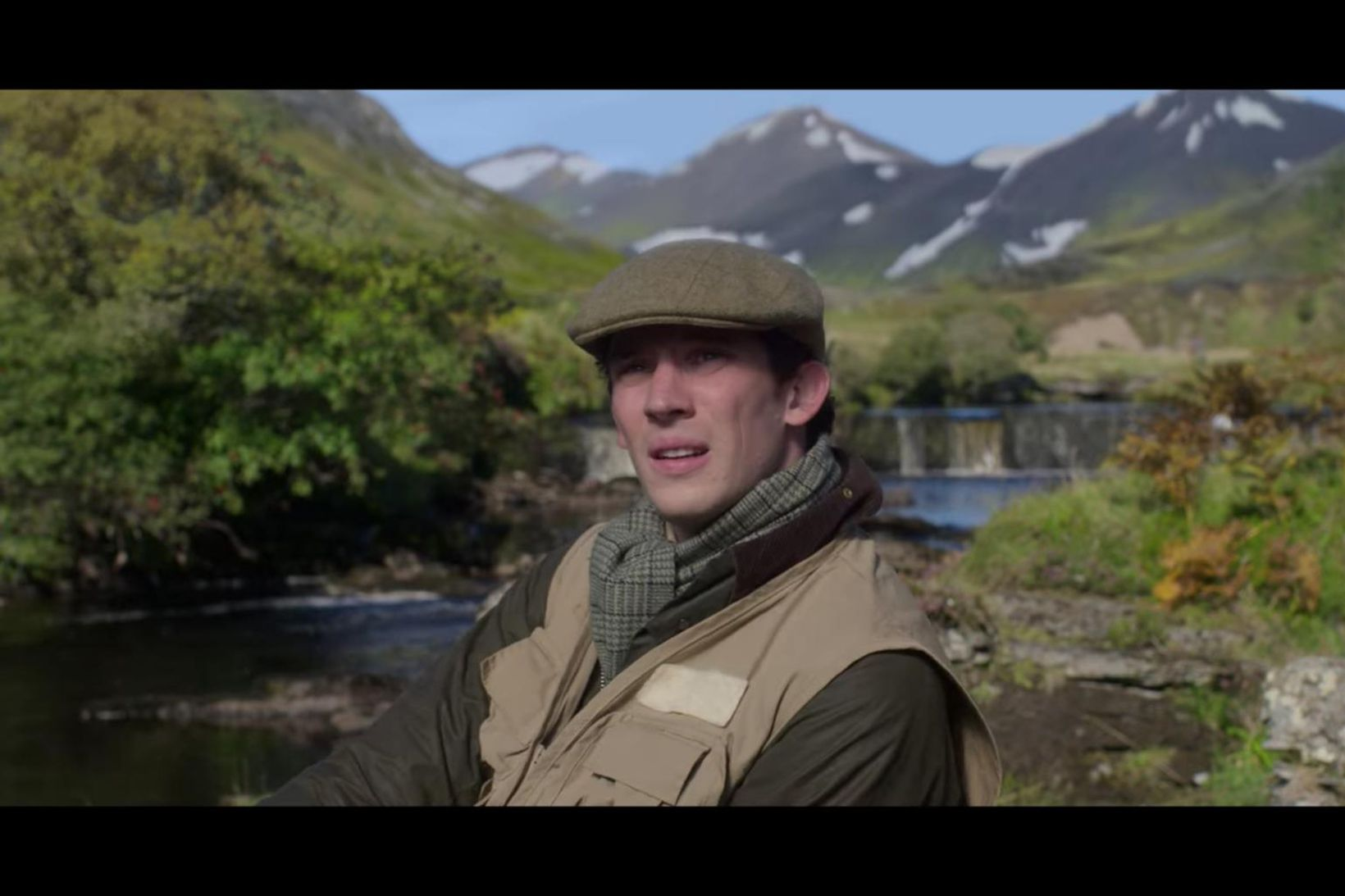 Josh O'Connor í hlutverki Karls Bretaprins.
