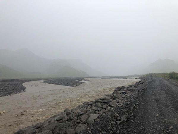 Krossá river in Þórsmörk.