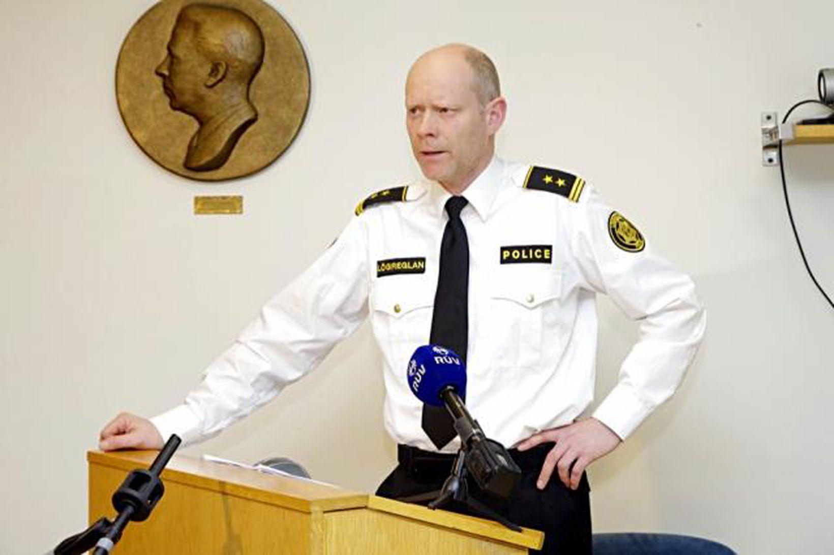 Karl Steinar Valsson yfirlögregluþjónn.