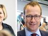 Halla Tómasdóttir og Andri Snær Magnason mættust í Eyjunni síðdegis.