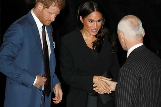 Harry og Meghan í Royal Albert Hall.