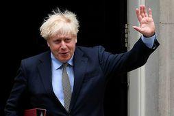 Boris Johnson er búinn að taka heilsuna föstum tökum eftir að hann veiktist af kórónuveirunni …