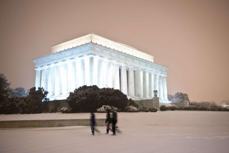 Lincoln minnismerkið í Washington