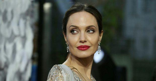 Angelina Jolie fór til New York um helgina.