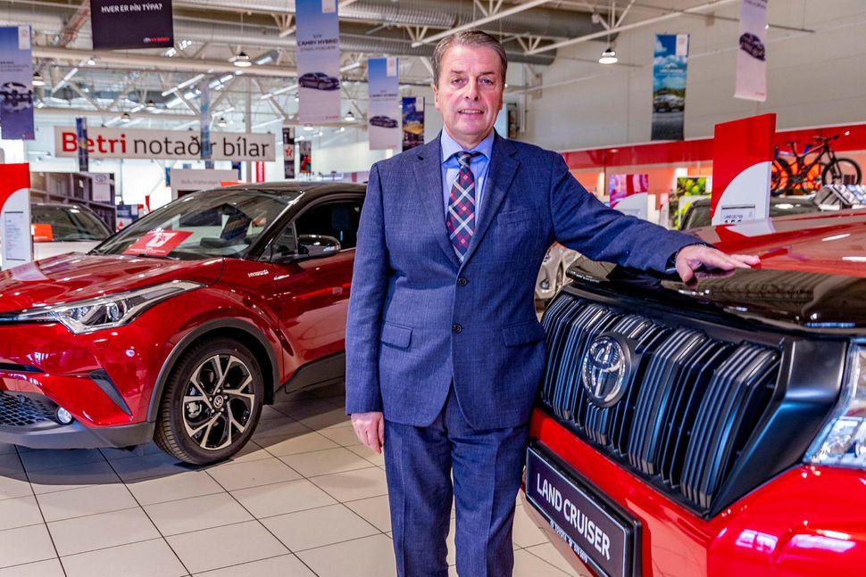 Úlfar Steindórsson keypti 60% hlut í Toyota á Íslandi árið …