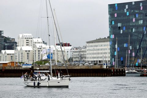 Seiglurnar komu til Reykjavíkurhafnar í gær.