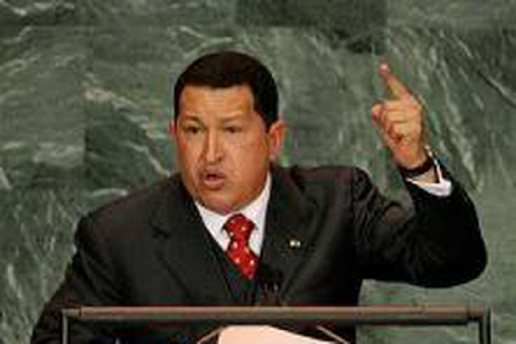 Hugo Chavez, forseti Venesúela, segir OPEC ríkin komin á fremsta …