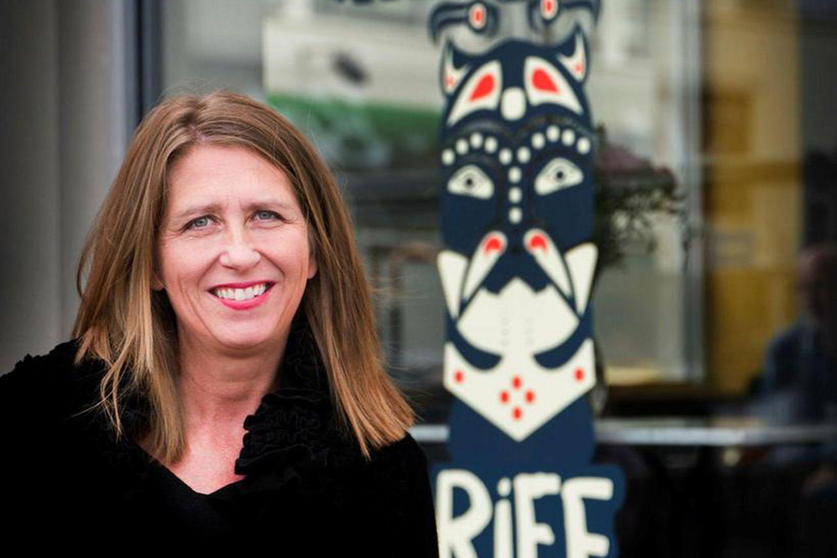 Hrönn Marinósdóttir, stjórnandi RIFF.